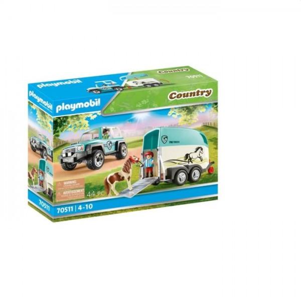 70511 Playmobil Country Auto Met Aanhanger