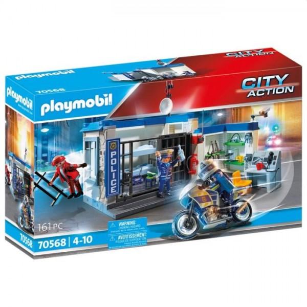 70568 Playmobil Politie: Ontsnapping Uit De Gevangenis