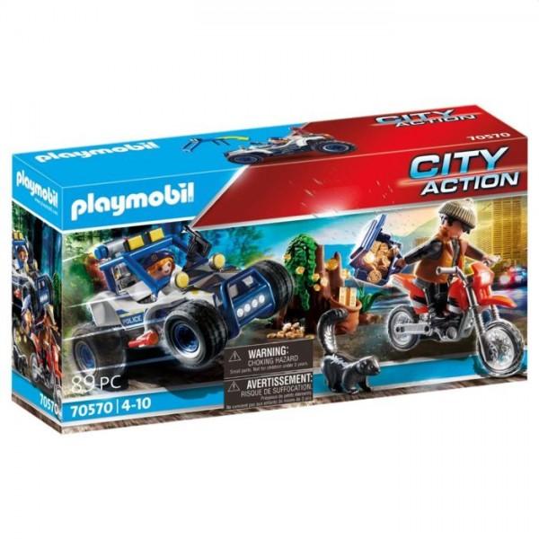 70570 Playmobil Politie Suv: Achtervolging Van De Schattenrovers