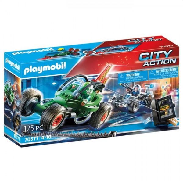 70577 Playmobil Politiekart: Achtervolging Van De Kluisrover