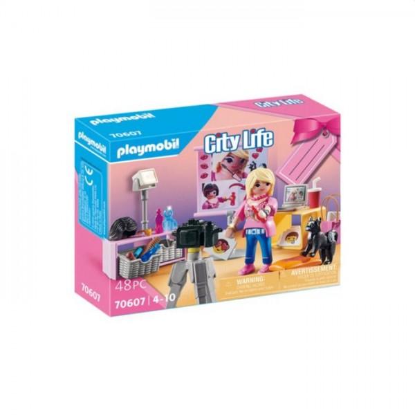 70607 Playmobil Geschenkset Social Media Ster