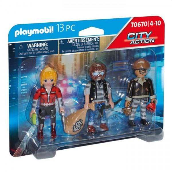 70670 Playmobil Figurenset Boeven