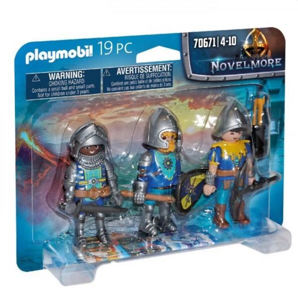 70671 Playmobil Set Van 3 Novelmore Ridders