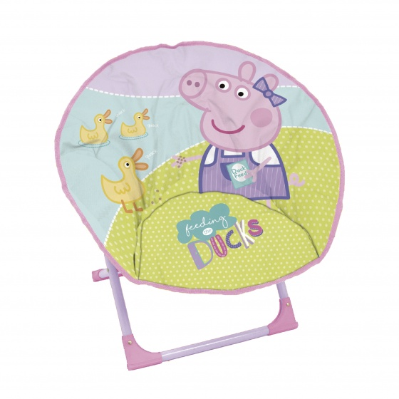 Arditex Peppa Pig campingstoel junior 50 cm roze