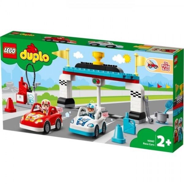 10947 Lego Duplo Race Cars