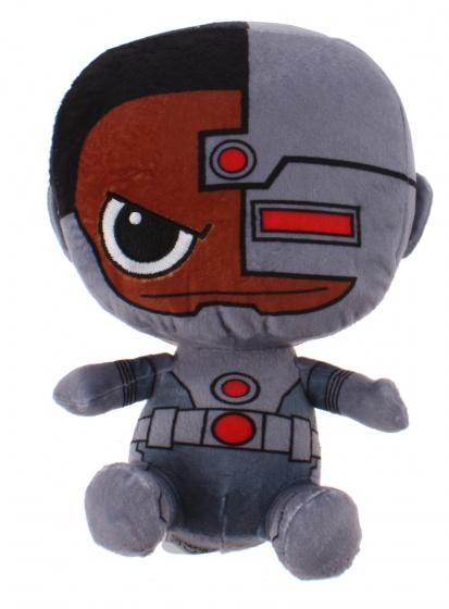 DC Comics Gift knuffel Cyborg pluche 15 cm grijs