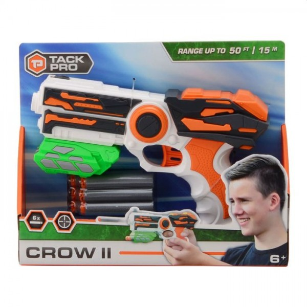 Tack Pro Shooter 2 met 6 Darts 23cm