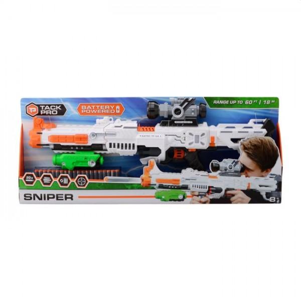 Tack Pro Sniper 7 met 22 Darts en Licht 75cm