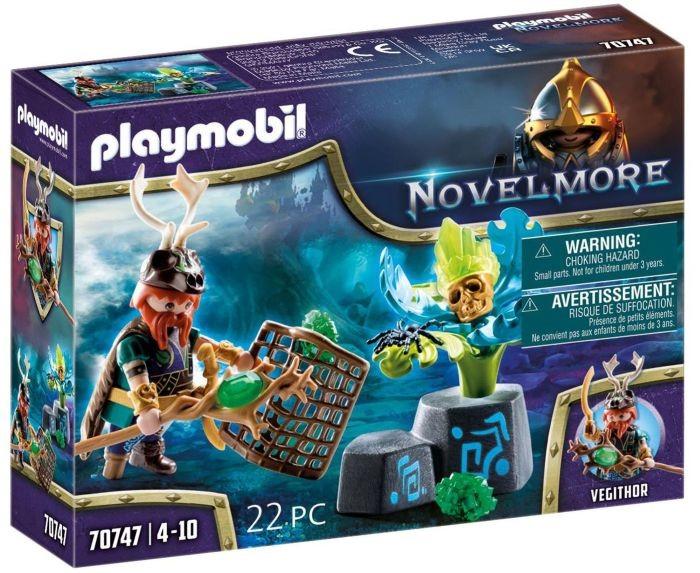 70747 Playmobil Novelmore Violet Vale Magier Van De Planten