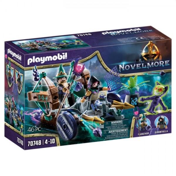 70748 Playmobil Novelmore Violet Vale Demonen Vangwagen