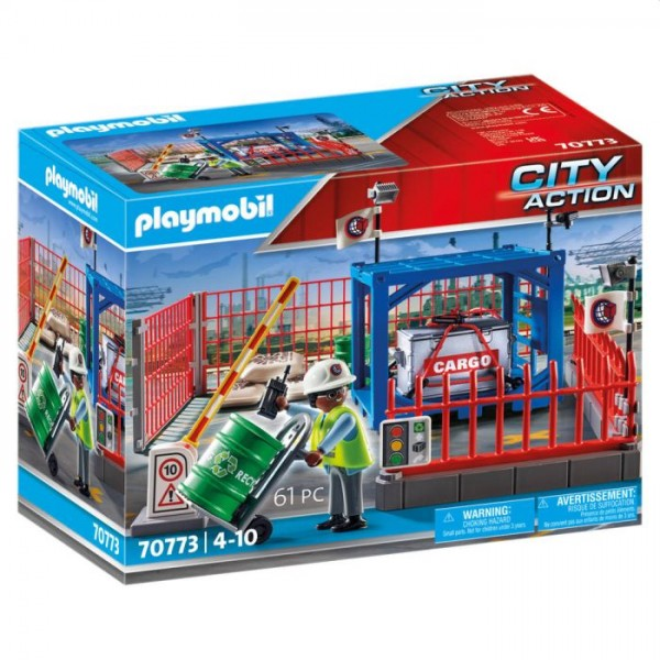 70773 Playmobil City Action Goederenmagazijn