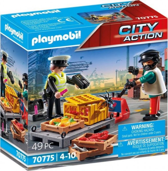 70775 Playmobil City Action Douanecontrole