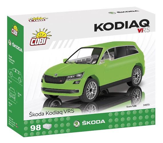 Cobi bouwpakket škoda Kodiaq jongens groen 98 delig