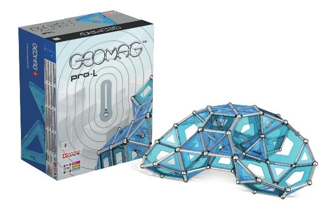 Geomag Education Set MasterBox Pro L blauw 396 delig