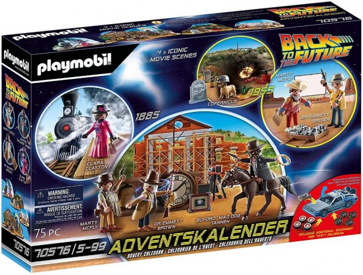 PLAYMOBIL adventskalender Back to the Future deel III (70576)